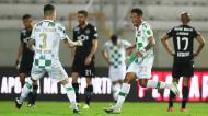 Walterson festeja o 1-1 no Moreirense-Sporting (José Coelho/LUSA)