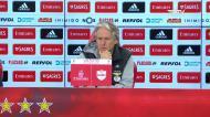 «Os jogadores do Benfica não sabem cair, são purinhos a jogar»
