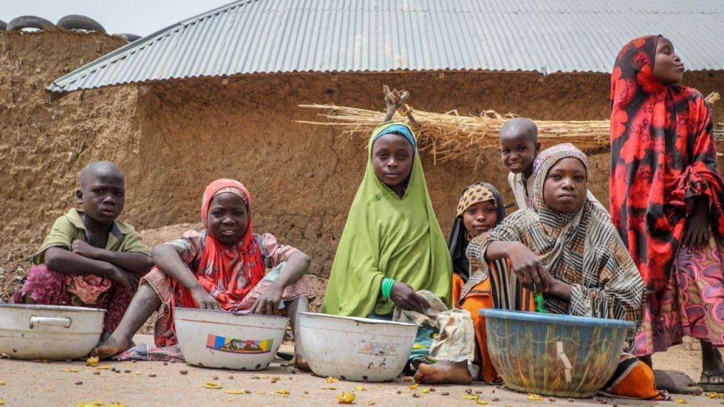 Crianças na Nigéria