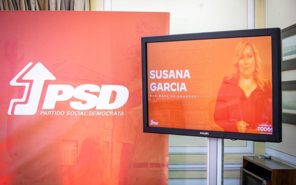 PSD apresenta Suzana Garcia