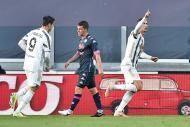 Juventus-Nápoles (fotos EPA/ALESSANDRO DI MARCO)