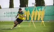 As melhores imagens do treino do Sporting
