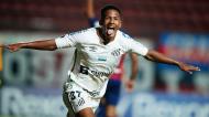 Ângelo, jovem de 16 anos do Santos (Natacha Pisarenko/AP)