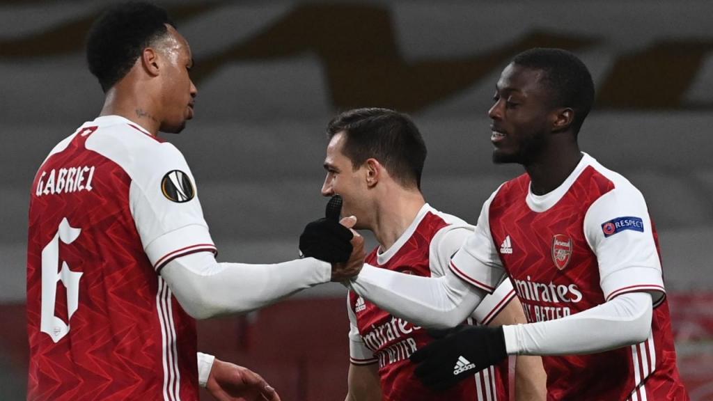 Arsenal-Slavia (Lusa)