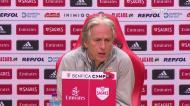 Jesus responde a Conceição: «Eu preferia jogar com o Paços e depois jogar os quartos da Liga Europa»