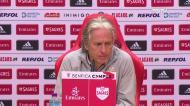 «O Sporting empatar um jogo não quer dizer, não é sinal de nada»
