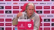 «O Benfica neste momento não olha para o nome do adversário: tem de ganhar todos os jogos»