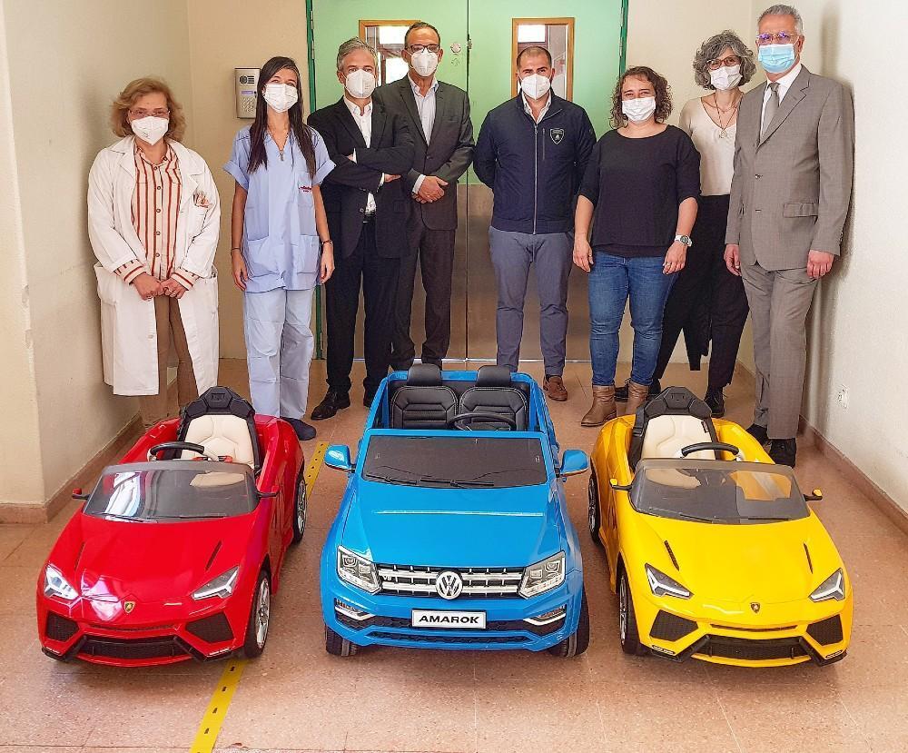 Volkswagen Amarok e dois Lamborghini Urus para o Hospital Amaora/SIntra