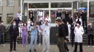 Real Sociedad entrega Taça do Rei aos profissionais de saúde (RS TV)