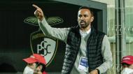 Bino Maçães no Portimonense-V. Guimarães, jogo de estreia ao comando dos minhotos (Luís Forra/LUSA)