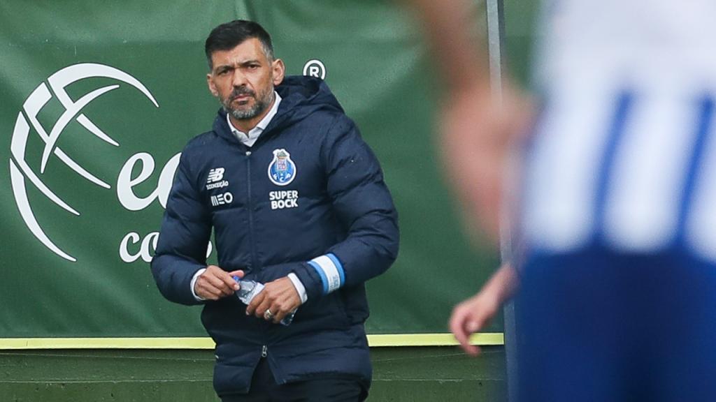 Sérgio Conceição no Tondela-FC Porto (Paulo Novais/LUSA)