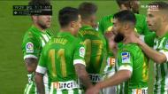 De primeira, Tello faz o empate do Betis frente ao At. Madrid