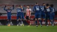 Sheffield United-Arsenal (EPA)