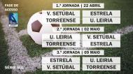 Play-off II Liga - Série Sul - Jornadas 1 à 3