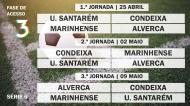 Acesso à Liga 3 - Série 6 - Jornadas 1 à 3
