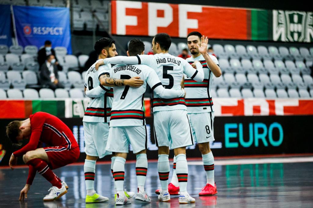 Seleção Nacional de Futsal (André Sanano/FPF)