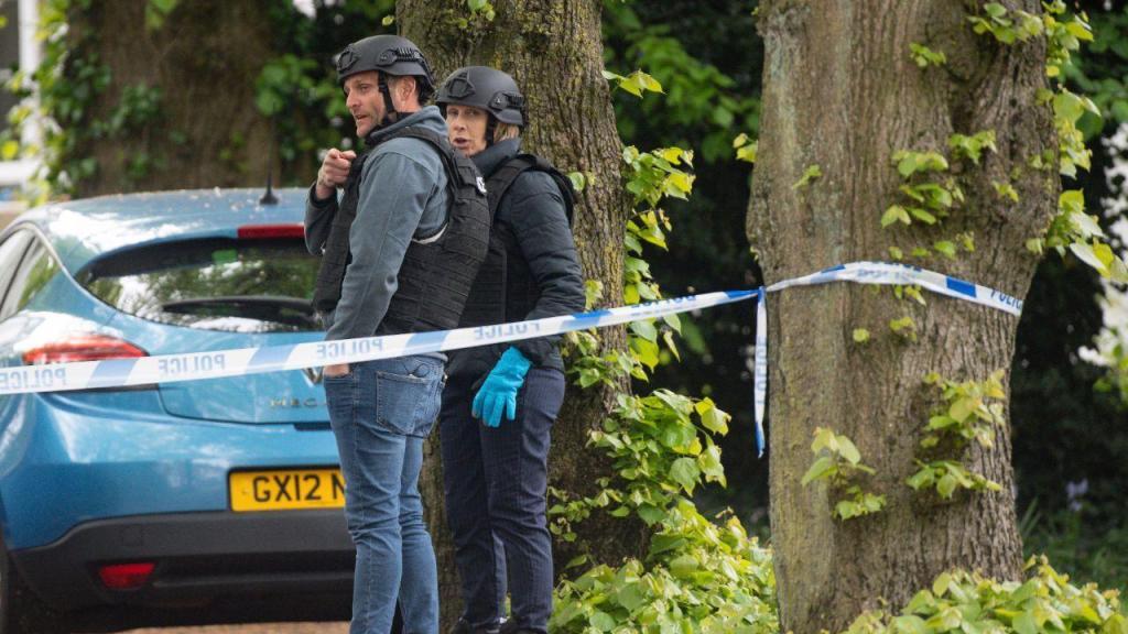 Polícia britânica em operação no condado de West Midlands