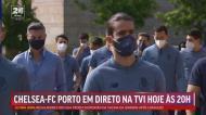 FC Porto deu passeio matinal na companhia de Vítor Baía
