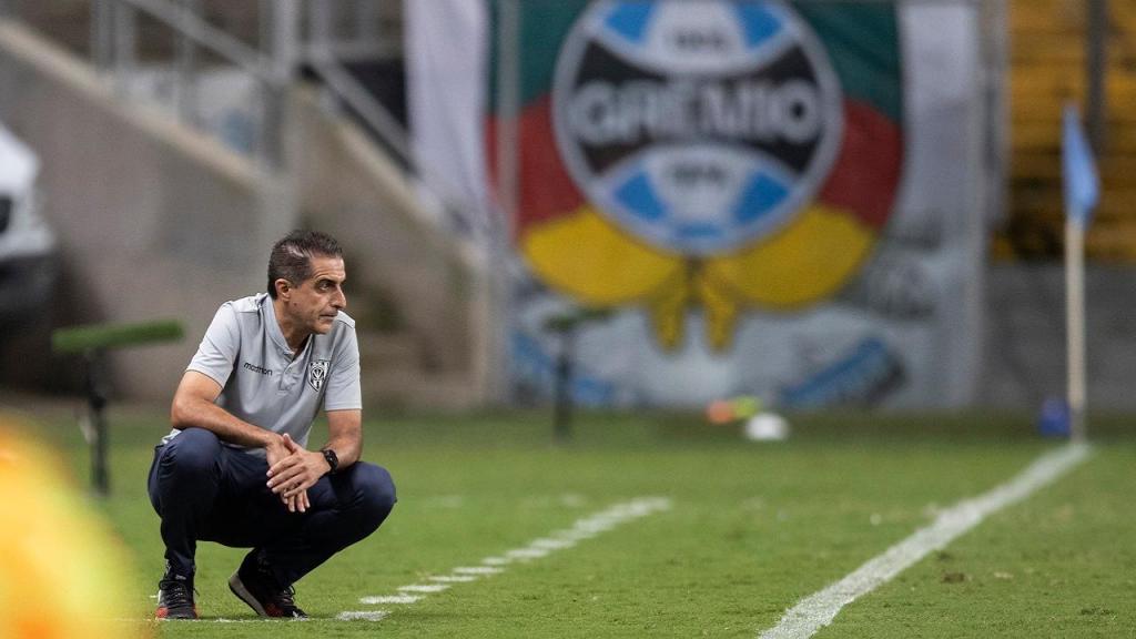 Renato Paiva no Independiente del Valle-Grémio (AP Photo/Liamara Polli, Pool)