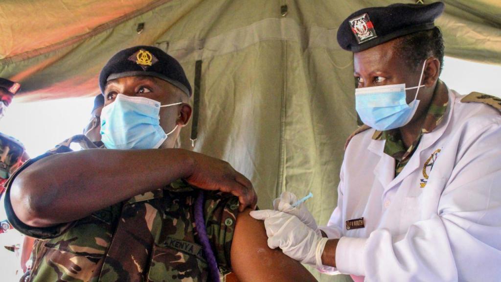 Vacinação no Quénia