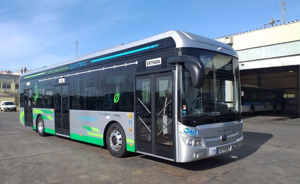 Autocarro elétrico (Rodoviária de Lisboa)