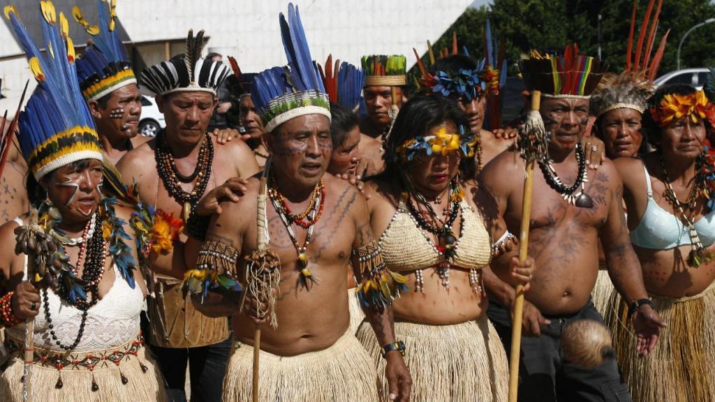 Indígenas Yanomami
