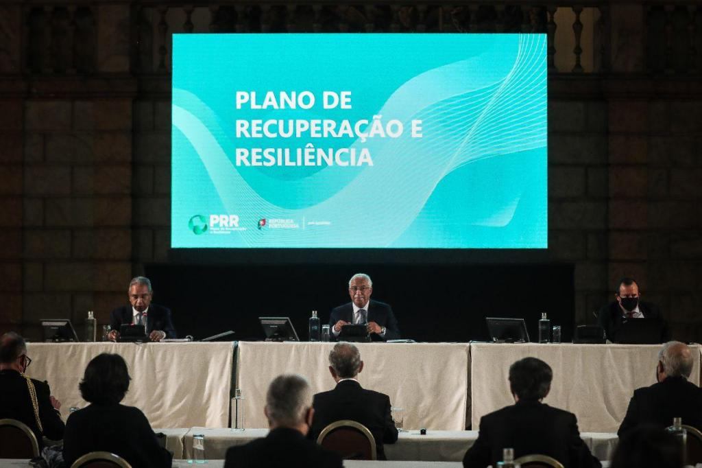 Apresentação do Plano de Recuperação e Resiliência