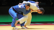 Anri Egutidze nos Europeus de judo 2021, em Lisboa (Nuno Veiga/LUSA)