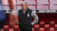 Jorge Jesus no Benfica-Gil Vicente (Lusa)