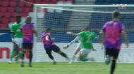 Grande oportunidade de Mbappé depois de brinde do Saint-Étienne
