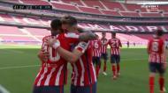Atlético Madrid ganha vantagem com golo de Angel Correa