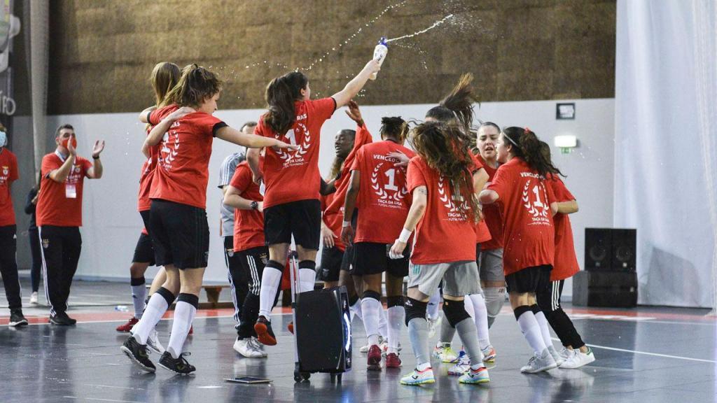 Futsal feminino do Benfica (FPF)