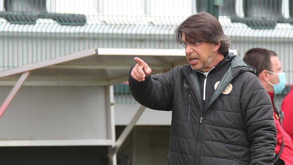 Manuel Machado no Nacional-FC Porto (Homem de Gouveia/LUSA)