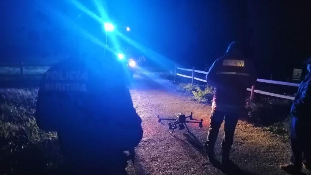 Polícia Marítima usa drone em buscas no Cabo da Roca