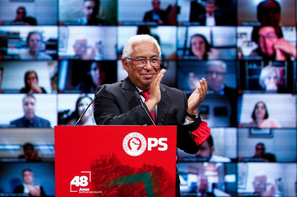 António Costa assinala 48.º aniversário do Partido Socialista