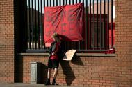 Protestos no Liverpool (AP)