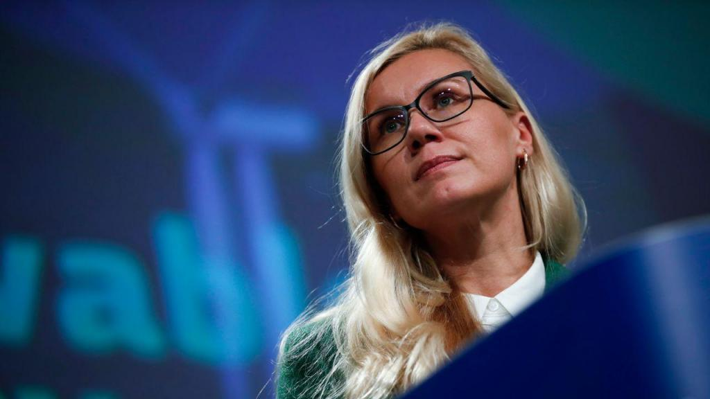 Kadri Simson, comissária europeia para a Energia