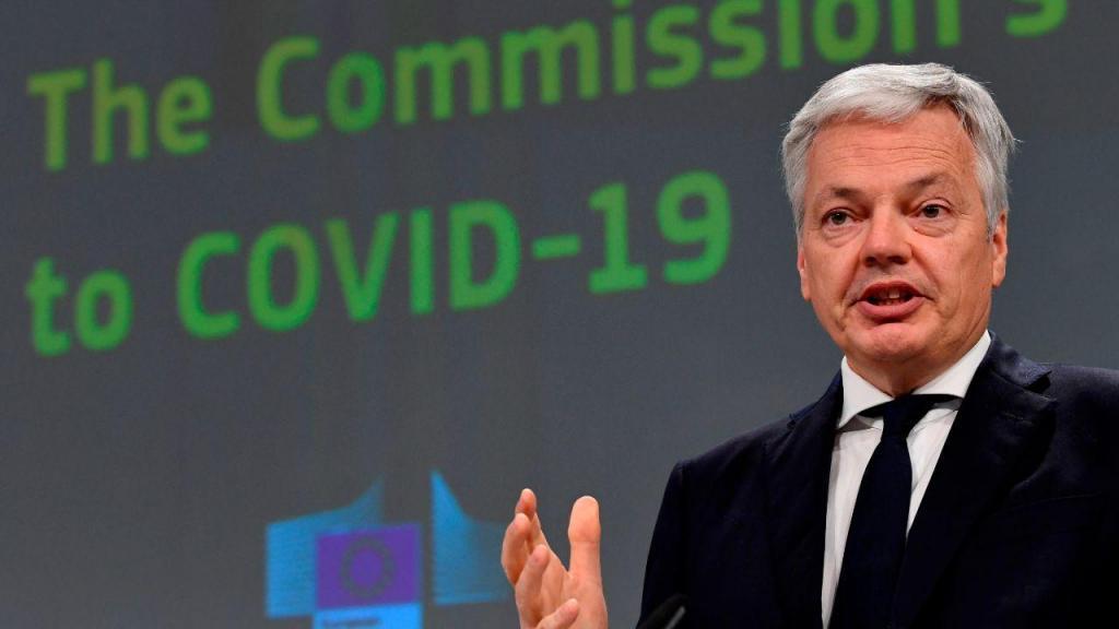 Didier Reynders, comissário europeu para a justiça