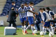 Marega no FC Porto-V. Guimarães (EPA/JOSE COELHO)