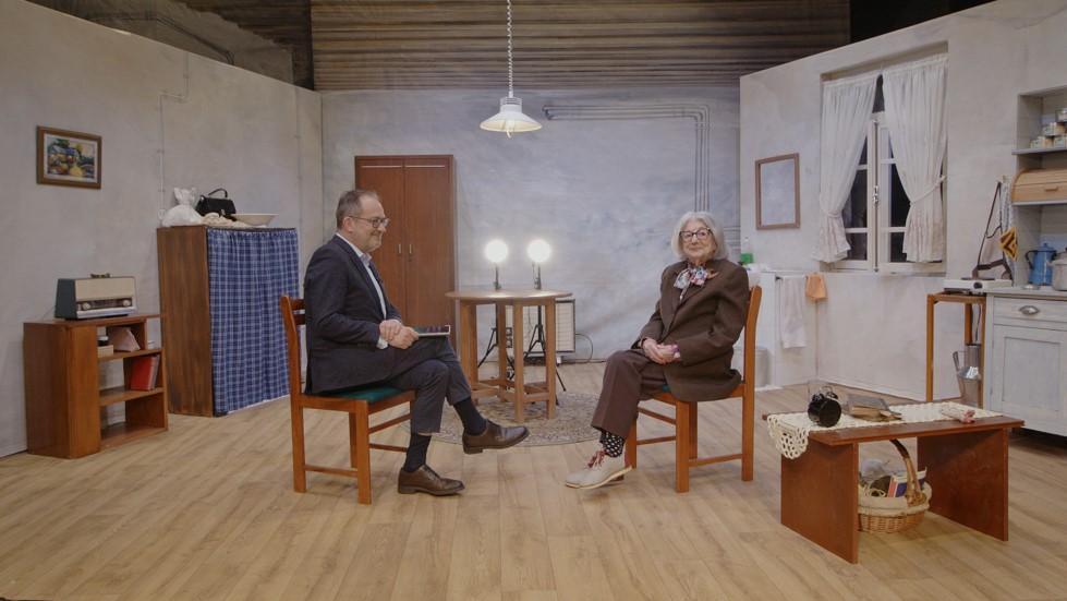José Alberto Carvalho entrevista Eunice Muñoz