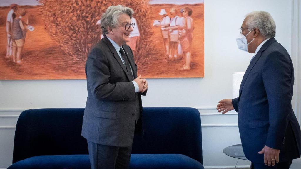 António Costa e Thierry Breton
