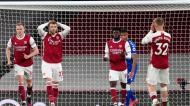 Arsenal-Everton (John Walton/Pool via AP)