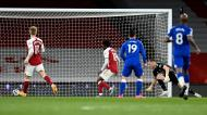 Arsenal-Everton (Michael Regan/Pool via AP)