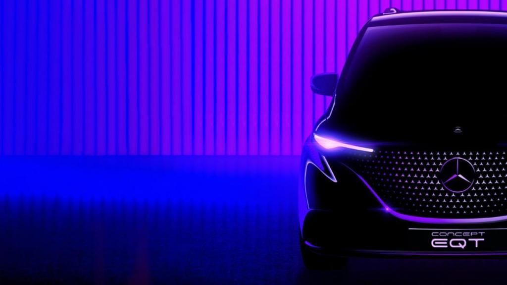 Novo Mercedes EQT em maio