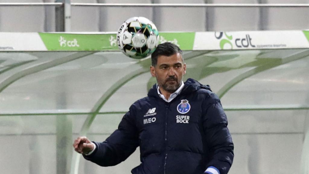 Sérgio Conceição no Moreirense-FC Porto (Estela Silva/LUSA)