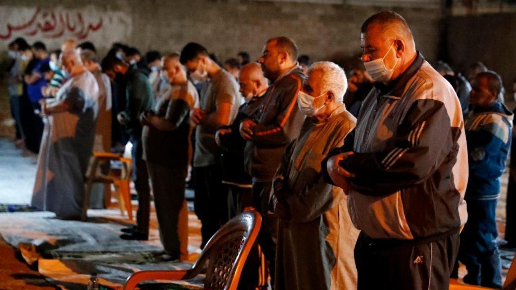 Oração na Faixa de Gaza