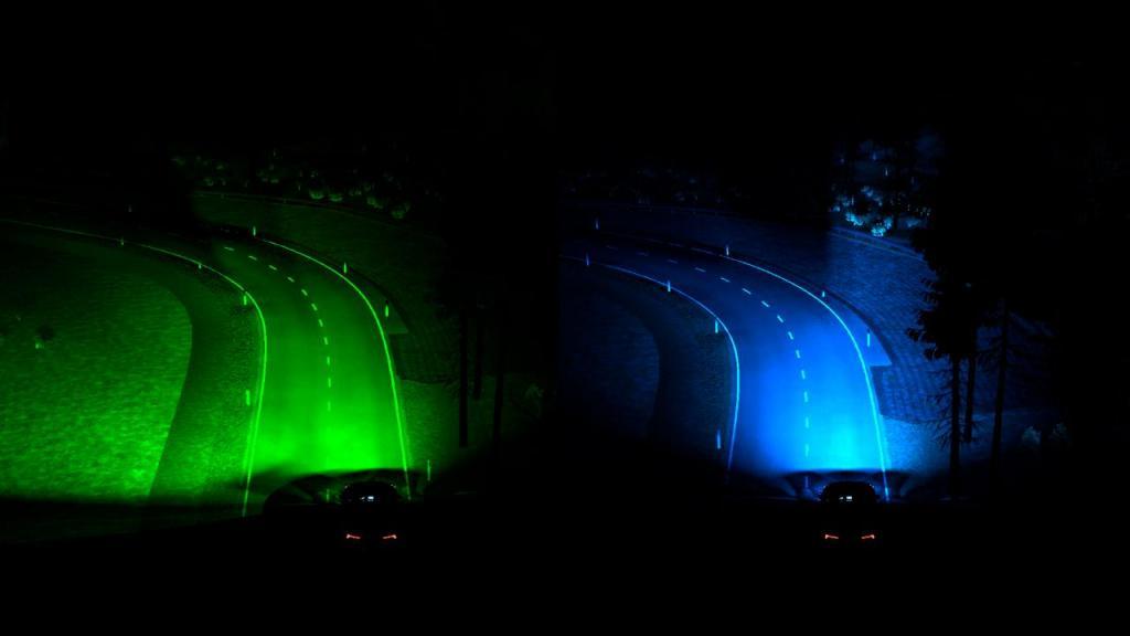 Ford Smart Headlights para visão noturna