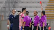 Sérgio Conceição expulso por Hugo Miguel após o final do Moreirense-FC Porto (Estela Silva/LUSA)