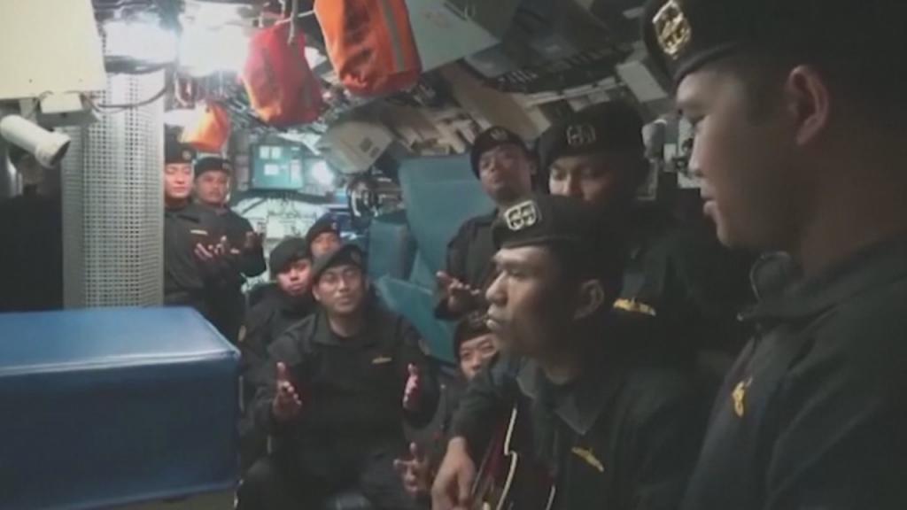 Tripulação de submarino naufragado