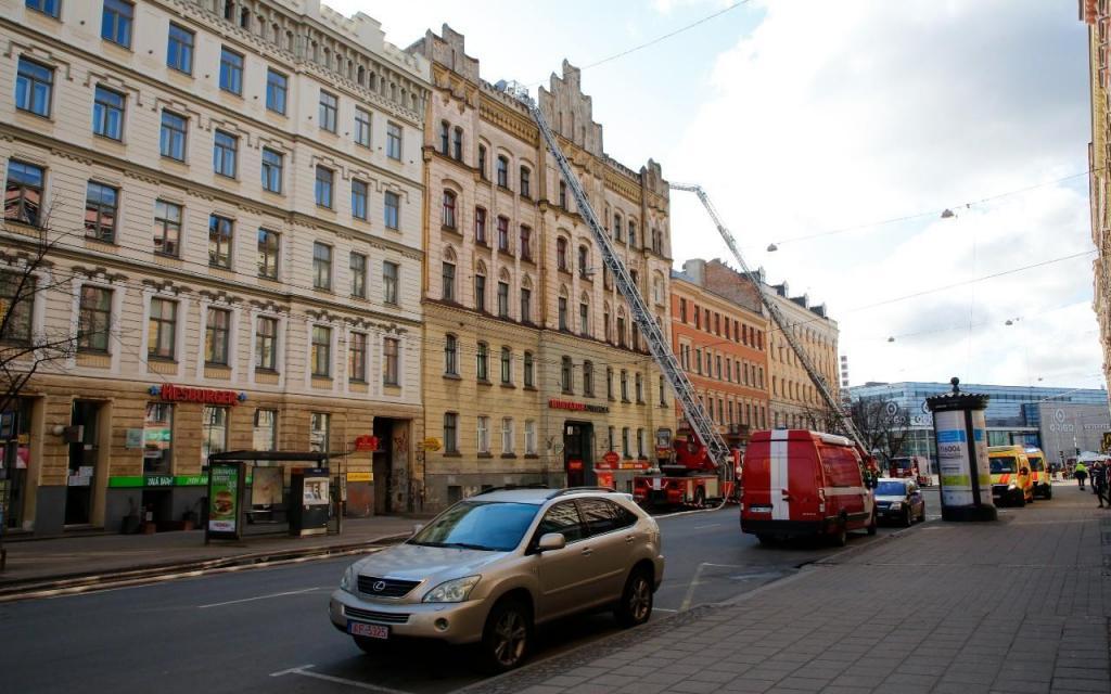 Incêndio em Riga